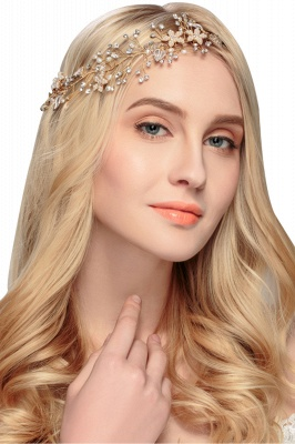 glamourous Alloy &Imitation Pearls Special Occasion&Party Headbands Headpiece with Rhinestone
