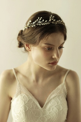 Glamourous Alloy Party Headbands Headpiece with Crystal