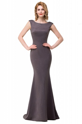 ERIKA | Mermaid Floor-Length Sleeveless Prom Dresses with Beads_2