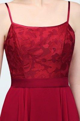 JULIANNE   A-line Spaghetti Floor Length Lace Appliques Prom Dresses_4