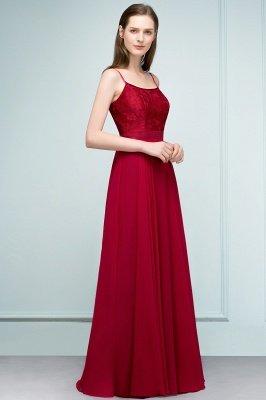 JULIANNE   A-line Spaghetti Floor Length Lace Appliques Prom Dresses_2