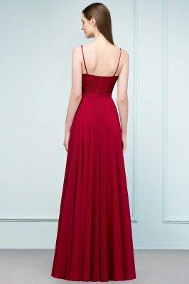 JULIANNE   A-line Spaghetti Floor Length Lace Appliques Prom Dresses_3