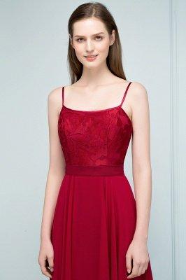 JULIANNE   A-line Spaghetti Floor Length Lace Appliques Prom Dresses_6