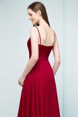 JULIANNE   A-line Spaghetti Floor Length Lace Appliques Prom Dresses_7