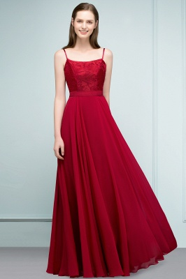 JULIANNE   A-line Spaghetti Floor Length Lace Appliques Prom Dresses_10