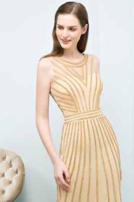SONIA | Mermaid Floor Length Beading Patterns Champagne Prom Dresses_9