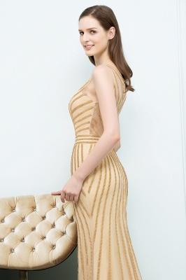 SONIA | Mermaid Floor Length Beading Patterns Champagne Prom Dresses_5