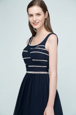 REGAN | A-line Short Sleeveless Beading Chiffon Homecoming Dresses_9