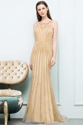 SONIA | Mermaid Floor Length Beading Patterns Champagne Prom Dresses_2