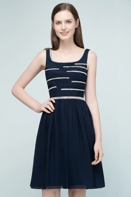 REGAN | A-line Short Sleeveless Beading Chiffon Homecoming Dresses_4