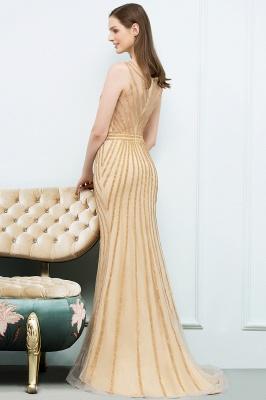 SONIA | Mermaid Floor Length Beading Patterns Champagne Prom Dresses_3