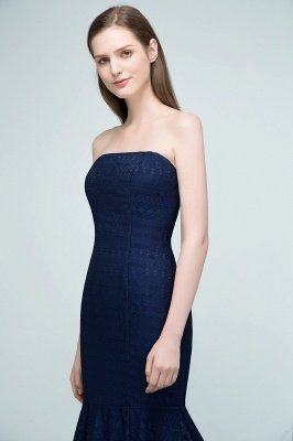RAMONA   Mermaid Strapless Floor Length Lace Prom Dresses_6