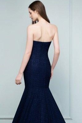 RAMONA   Mermaid Strapless Floor Length Lace Prom Dresses_8