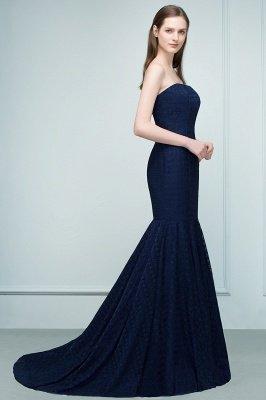 RAMONA   Mermaid Strapless Floor Length Lace Prom Dresses_7
