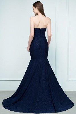 RAMONA   Mermaid Strapless Floor Length Lace Prom Dresses_3