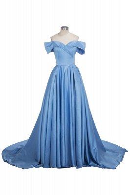 GlamorousOff-the-Shoulder Mermaid Evening Dress Long With Slit BA6777_1