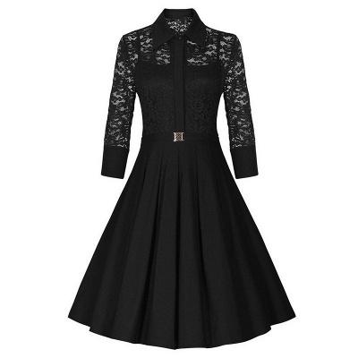 Women's V-Line Dress Medium Bright Blue_3