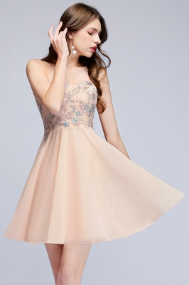 MADELINE | A-line Short Strapless Sweetheart Beading Appliques Homecoming Dresses_10