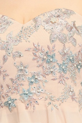 MADELINE | A-line Short Strapless Sweetheart Beading Appliques Homecoming Dresses_9