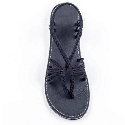 Summer Braided Daily Flip-flops Sandals_14