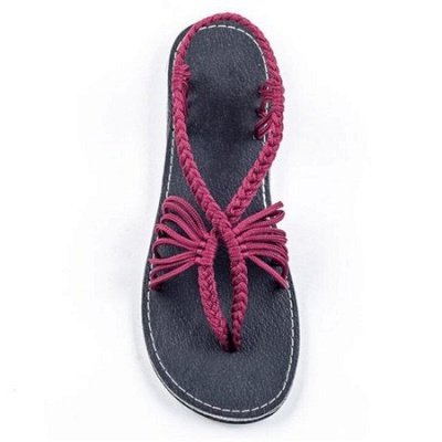 Summer Braided Daily Flip-flops Sandals