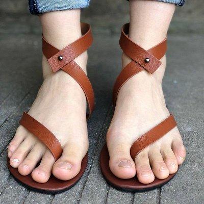 Sandals Flip Flops Ankle Wrap Shoes_19