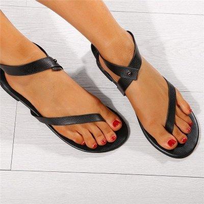 Sandals Flip Flops Ankle Wrap Shoes_16