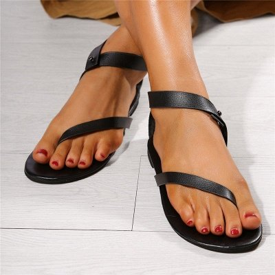 Sandals Flip Flops Ankle Wrap Shoes_17