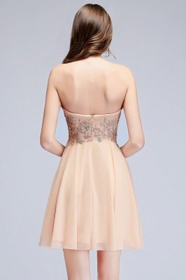 MADELINE | A-line Short Strapless Sweetheart Beading Appliques Homecoming Dresses_3