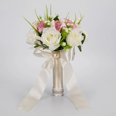 Multiple Artificial Flowers Bouquet for Wedding_3