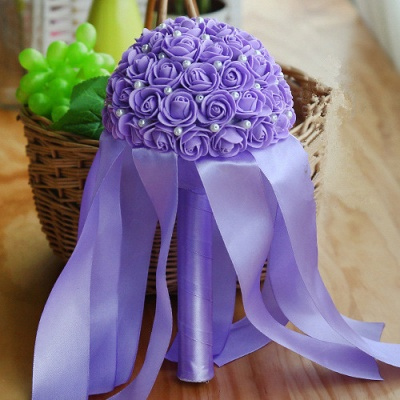 Multiple Colors Beading Bouquet for Wedding_8