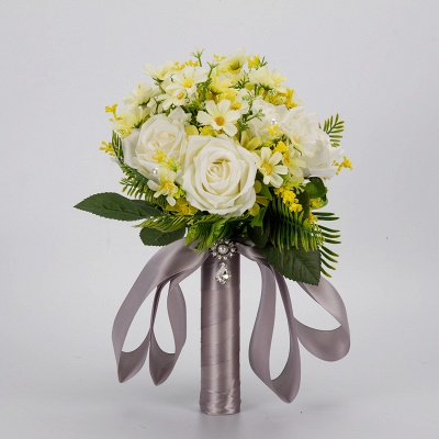 Multiple Artificial Flowers Bouquet for Wedding_2