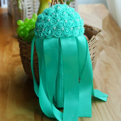 Multiple Colors Beading Bouquet for Wedding_10