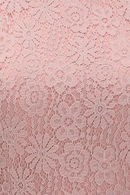 MARIANNA | A-line Sleeveless Halter Long Lace Chiffon Bridesmaid Dresses_12