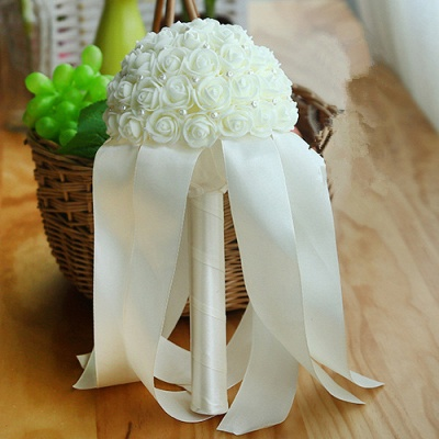 Multiple Colors Beading Bouquet for Wedding_2