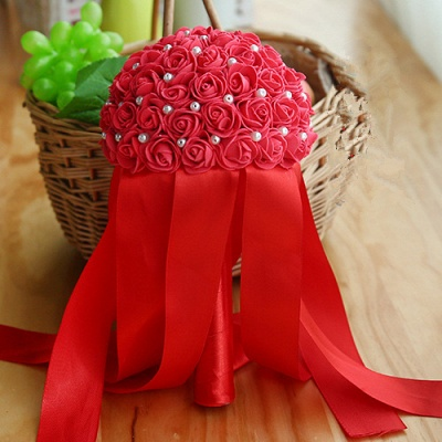 Multiple Colors Beading Bouquet for Wedding_5
