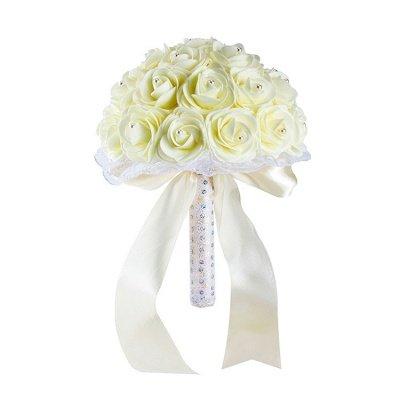 Bouquet de perles colorées pour mariage_2