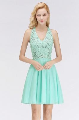 NONA   A-line V-neck Sleeveless Short Appliques Chiffon Homecoming Dresses_5