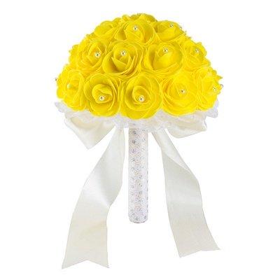 Bouquet de perles colorées pour mariage_8