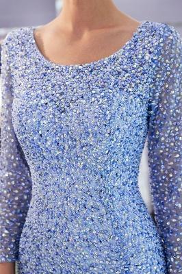 Mermaid Floor Length Long Sleeves Sequins Formal Party Dresses_10