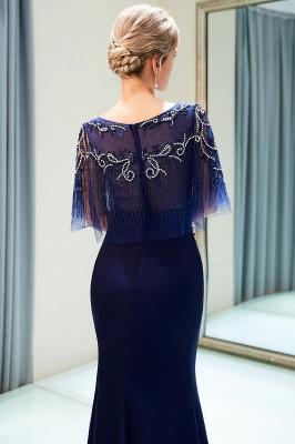 Mermaid Crystal Beading Floor Length Formal Party Dresses_8