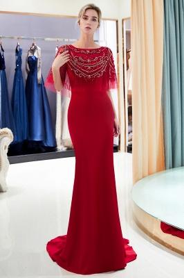 Mermaid Crystal Beading Floor Length Formal Party Dresses_13