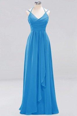 A-line Chiffon Spaghetti Straps Sleeveless Ruffles Floor-Length Bridesmaid Dresses_15