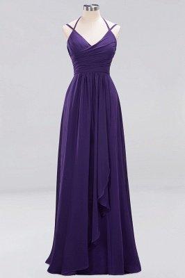 A-line Chiffon Spaghetti Straps Sleeveless Ruffles Floor-Length Bridesmaid Dresses_11