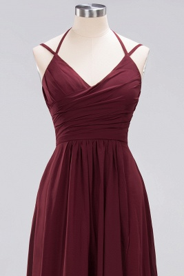 A-line Chiffon Spaghetti Straps Sleeveless Ruffles Floor-Length Bridesmaid Dresses_29