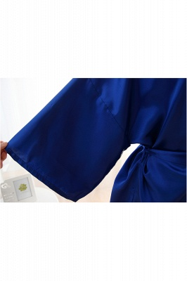 Bride Bridesmaid Strech With Short Robes_5