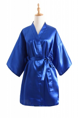 Bride Bridesmaid Strech With Short Robes_1