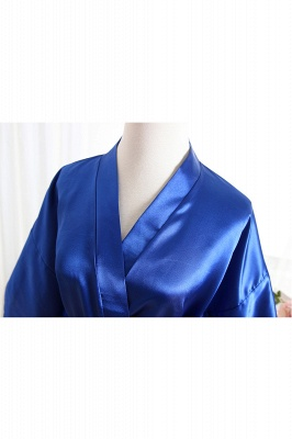 Bride Bridesmaid Strech With Short Robes_3