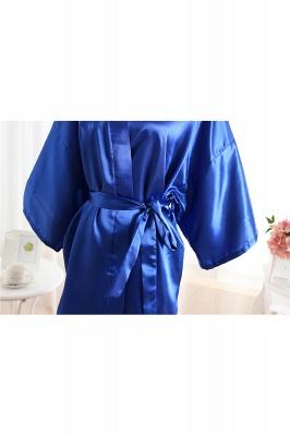 Bride Bridesmaid Strech With Short Robes_4