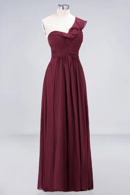 Elegant Princess Chiffon One-Shoulder Sweetheart Sleeveless Floor-Length Bridesmaid Dress with Ruffles_3